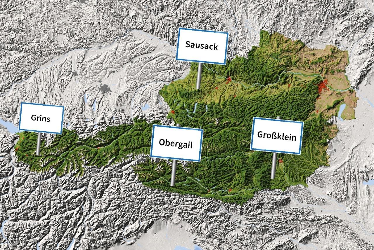 Skurrile Ortsnamen